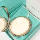 RARE Vintage Tiffany & Co Sterling Silver Purse Compact Mirror w/box