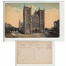 Yorkshire.  Postcard West Front Ripon Cathedral Item No 14