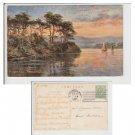 Cumbria Postcard Fryers Crag Derwentwater Mauritron Item No. 24