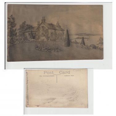 Cumbria Postcard House in Cumbria Mauritron Item No. 25