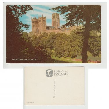 County Durham Postcard The Cathedral, Durham Mauritron Item No. 28