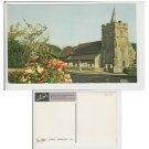Isle of Wight Postcard St. Mary's Church, Brighstone. Mauritron Item No. 31