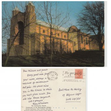 Yorkshire Postcard The Community Church, Mirfield Mauritron Item No. 71