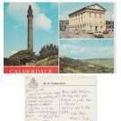 Yorkshire Postcard Calderdale Multiview Mauritron Item No. 77