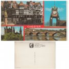 Cheshire Postcard Chester Multiview 2-18-01-01. Mauritron # 110