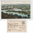 Cumbria Postcard Bowness & Belle Isle Windermere. Mauritron #115