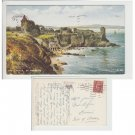 Highlands  Postcard The Castle, St. Andrews. Mauritron #143