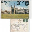 Cambridgeshire Postcard Kings College and Chapel Cambridge. Mauritron #147