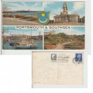 Hampshire   Postcard Portsmouth & Southsea Multiview. Mauritron #163