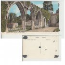 Hampshire   Postcard Chapter House Arches Beaulieu Abbey. Mauritron #175