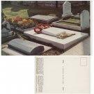 Oxfordshire Postcard St Martins Church Graves Bladon. Mauritron #191