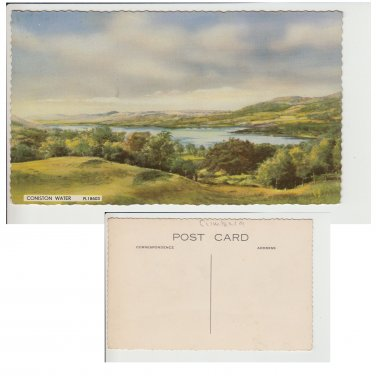 Cumbria Postcard Coniston Water. Mauritron #208