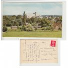 Hampshire   Postcard Romsey Abbey from Green Hill. Mauritron #219