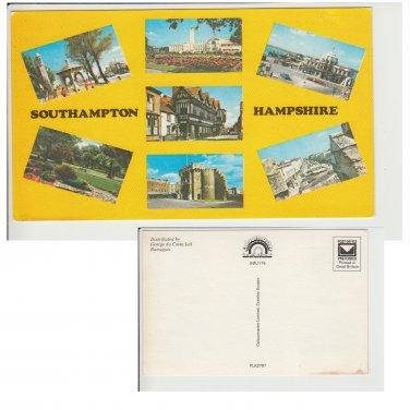 Hampshire   Postcard Southampton Hampshire Multiview. Mauritron #224