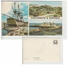 Hampshire   Postcard Portsmouth & Southsea Multiview. Mauritron #226