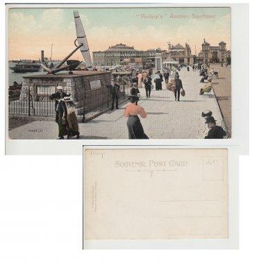 Hampshire   Postcard Victory Anchor Southsea. Mauritron #236