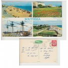 Hampshire   Postcard Southsea Multiview ST4325. Mauritron #235