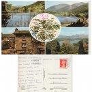 Cumbria Postcard The Lake District Multiview. Mauritron #257