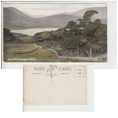 Cumbria Postcard Head of Grummock Water. Mauritron #260
