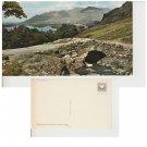 Cumbria Postcard Ashness Bridge & Skiddaw. Mauritron #271
