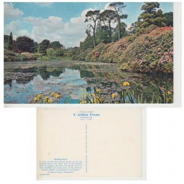 Sussex Postcard Sheffield Park. Mauritron #308