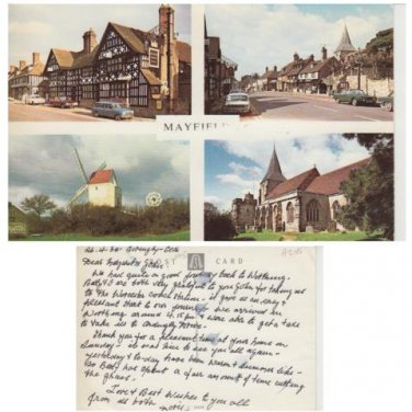 Sussex Postcard Mayfield Multiview. Mauritron #310