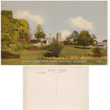 Gloucestershire Postcard Church from Calf Lane Chipping Campden. Mauritron 322