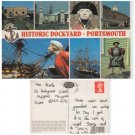 Hampshire   Postcard Historic Dockyard Portsmouth Multiview Mauritron 334