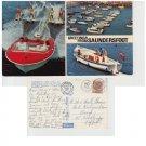 Carmarthenshire Postcard Saundersfoot Multiview Mauritron 337