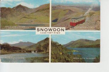 Snowdon Multiview Postcard. Mauritron PC367-213559