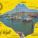 Isle of Wight Map  Postcard. Mauritron PC384-213576
