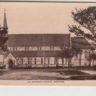 St. Mathews Church Skegness Lincolnshire Postcard. Mauritron PC401-213796