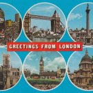 Greetings from London Multiview Postcard. Mauritron PC407-213802