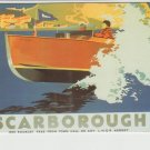 Scarborough Boat Poster Postcard. Mauritron PC416-213811