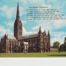 Salisbury Cathedral Postcard. Mauritron PC439-213834