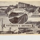 Just Arrived in Portsmouth Southsea Postcard. Mauritron PC485-213880