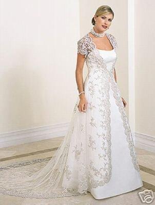 perfect Wedding dress/gown & bridesmaid size custom