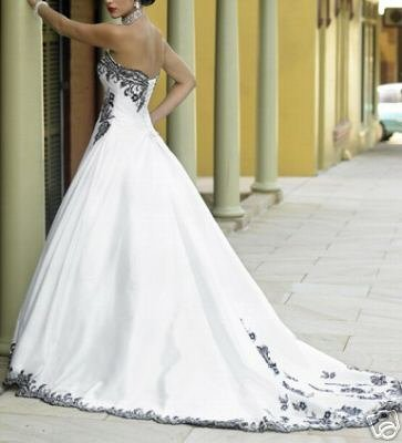 New Wedding Dresses / Wedding /prom gown size 4-38