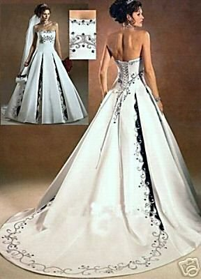New Wedding Dresses Bridal Gowns Prom Gowns all size