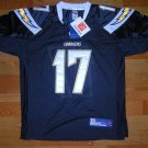 Rivers #17 San Diego Chargers NFL Jersey BL size 52