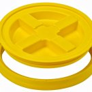 Gamma Seal Screw On Lids Fits 3.5 5 7 Gallon Buckets Food Storage Container Airtight Survival YELLOW