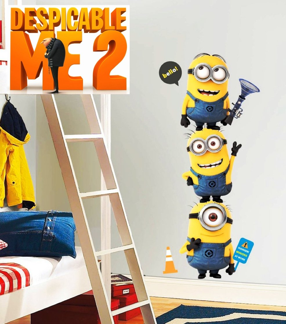 Dave Stuart Jerry Minions from Despicable Me 2 3D Movie ...