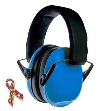 Noise Reduction Headphones Baby Child Kids Autism Asperger Syndrome Safety Hearing Protector BLUE