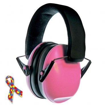 Noise Reduction Headphones Baby Child Kids Autism Asperger Syndrome Safety Hearing Protector PINK