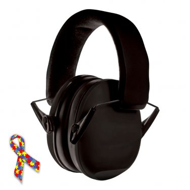 Noise Reduction Headphones Baby Child Kids Autism Asperger Syndrome Safety Hearing Protector BLACK