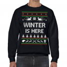 Ugly Christmas Sweater, Ugly Sweater, Game Of Thrones , Winter Is Here  Sweatshirt