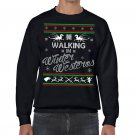 Ugly Christmas Sweater, Ugly Sweater, Game Of Thrones , Walking In Winter Westeros  Sweatshirt