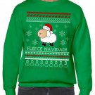 Ugly Christmas Sweater, Ugly Sweater, Fleece Navidad Sweatshirt