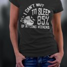 Black Friday, I Can't Wait To Sleep 85% Of My Long Weekend Shirt