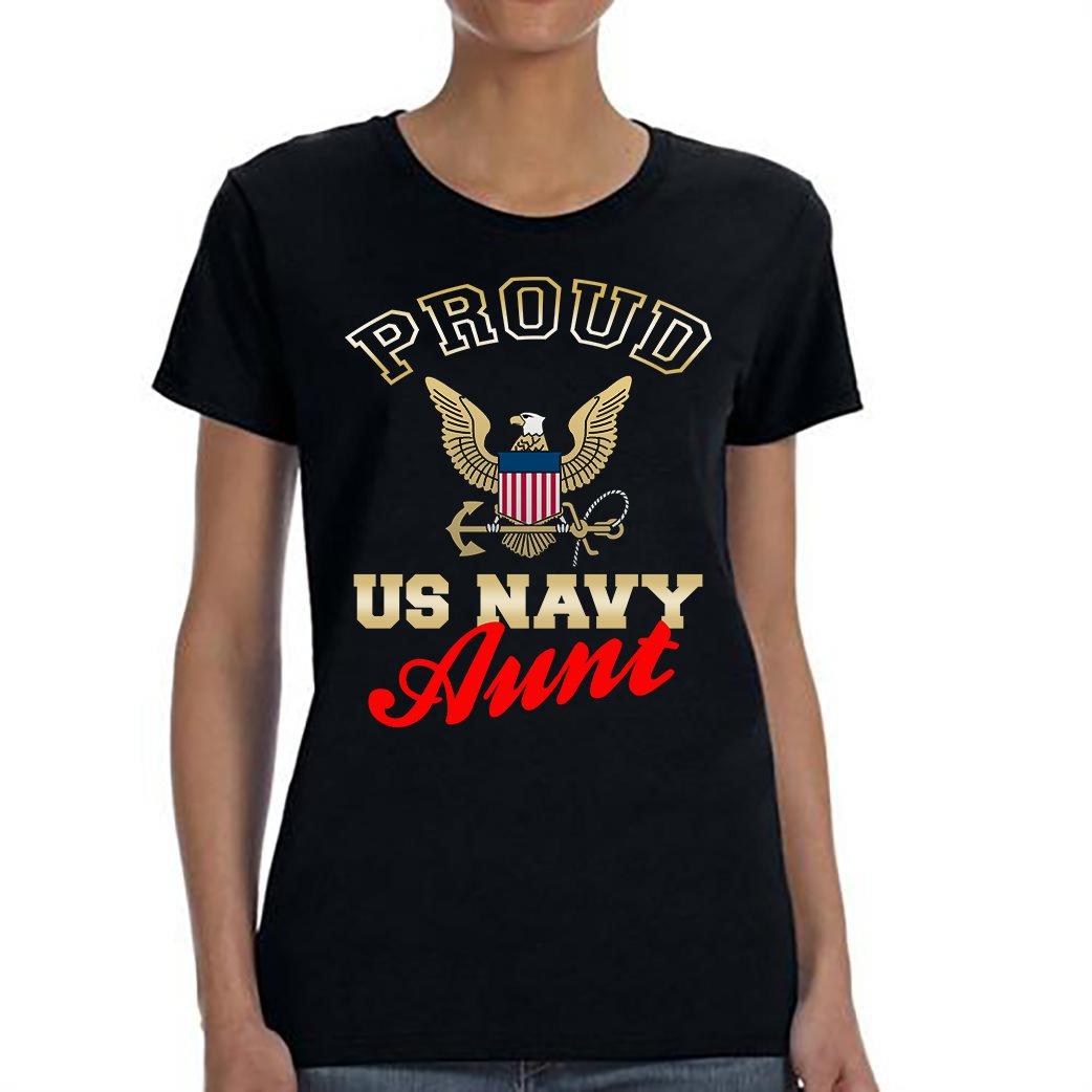 US Navy Aunt, Proud Us Navy Aunt Shirt